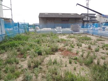 現場・西側建設地写真